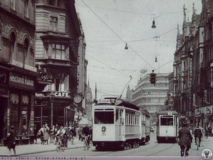 Świdnicka widok w stronę pl. Kościuszki -lata 1930-1943