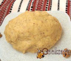 Песочное тесто с грецкими орехами на желтках