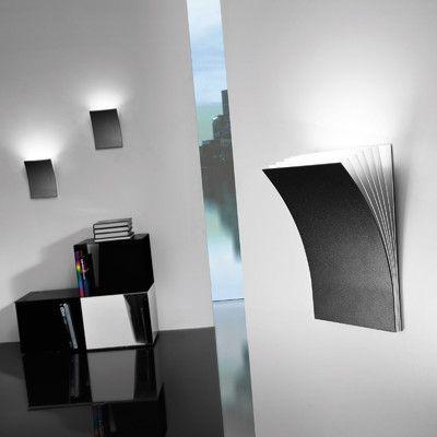 Axo Light Polia 1 Light Wall Sconce in Basalt Gray Size: