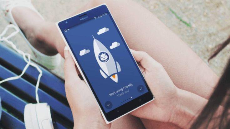 La 'app' Friendly for Facebook incorpora las características de Facebook Lite y el servicio de mensajería (Messenger) sin tener que descargar otra aplicación.