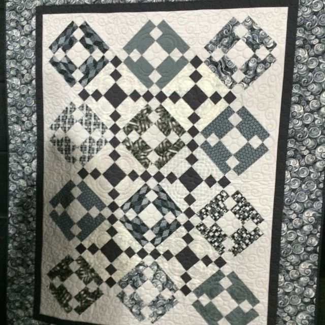 Part of the 50 Shades of Gray category at #Quiltfest! #quilting #art #quilt