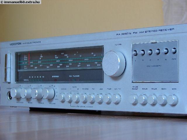 Videoton receiver