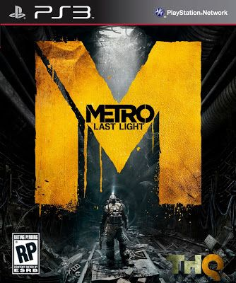 Metro Last Light   PS3 ISO Games Free Download