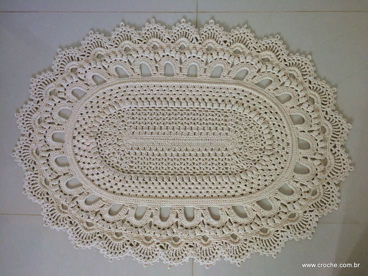 666 Best Crochet Doilies Free Patterns Images On