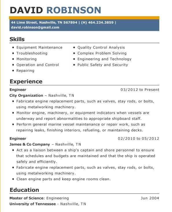 Simple Resume Examples For Jobs Resume Examples Simple Resume
