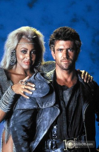 """""""Mad Max: Beyond Thunderdome"""" - Tina Turner & Mel Gibson.  George Miller, Director - 1985"""