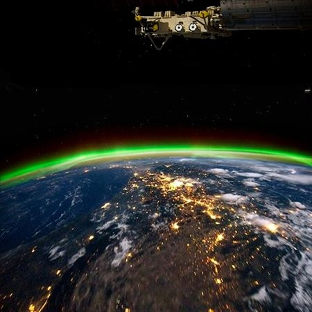 Disasters On Earth Seen From Space Station - Pics about space