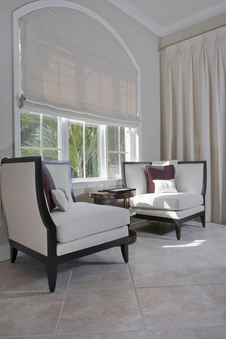 Custom window treatments for arched windows - Custom Roman Shade For Arched Window Curtain Call Creations Arched Window Curtainsarch Windowsarched