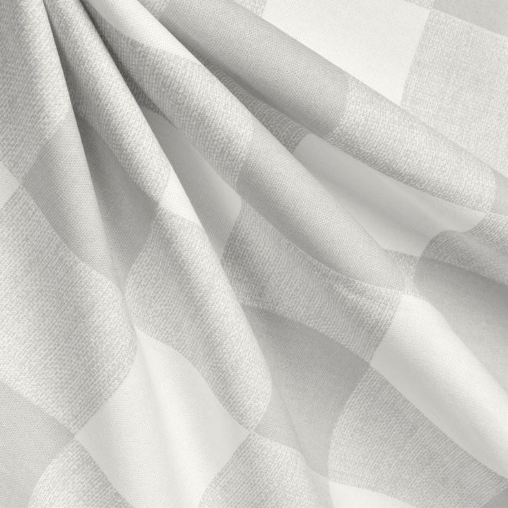 Buffalo Plaid French Grey Gray Curtains Window Treatments Valances Living Room Bedroon