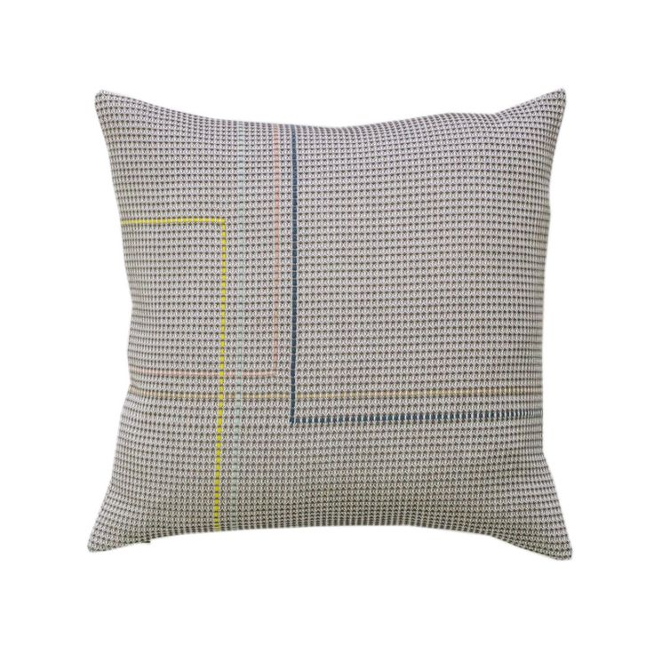 Pipe Square Cushion Parnell by WAFFLE DESIGN  on Clippings.com