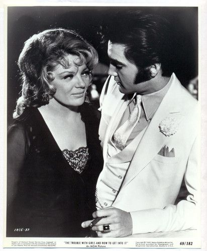 Elvis Presley Sheree North Original Movie Photo 1969 The Trouble with Girls | eBay