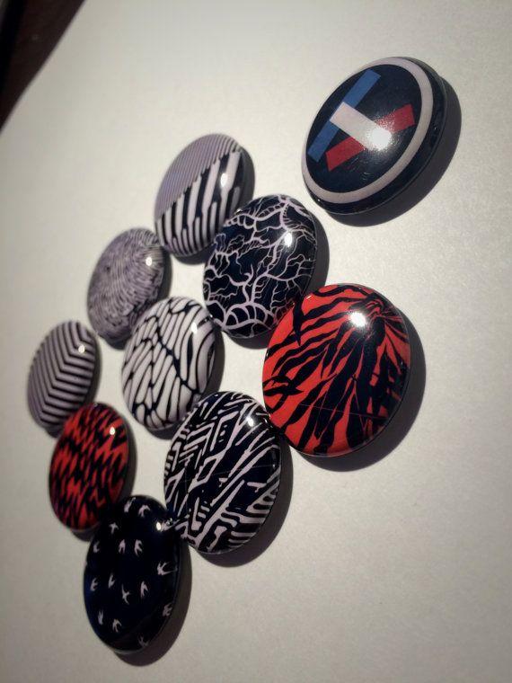 Twenty One Pilots Pins 11 1-inch Buttons 2 Logos by Noahmeta