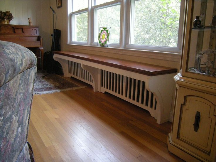 Radiator Covers w/ Bench Seat -- need this for our kitchen