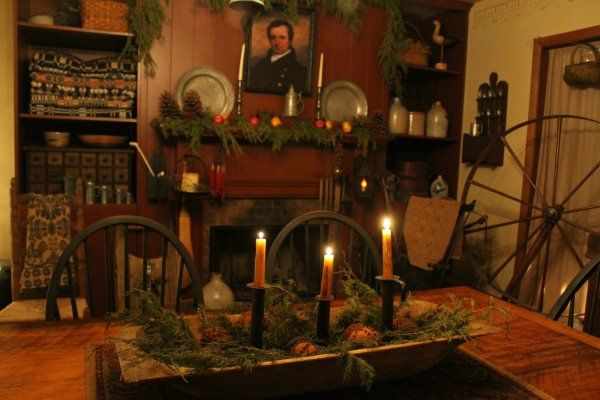 A Colonial Christmas | Christmas | Pinterest