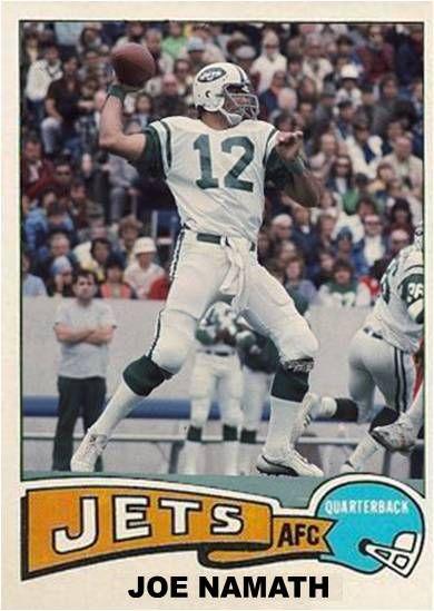 Joe Namath New York Jets
