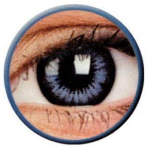 Lentile de contact colorate albastre Big Eyes Cool Blue - http://lensa.ro/lentile-contact-colorate/big-eyes/cool-blue