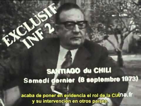 La última entrevista de Salvador Allende (1973)