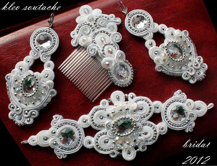 sutasz, soutache, kleo soutache, biżuteria, kolczyki, bransoletki, ozdoby do włosów ślubne, ślubna biżuteria, biżuteria na zamówienie
