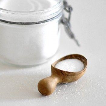 Teak Mini Scoop Sugar, Made By Chabatree In Thailand Photo