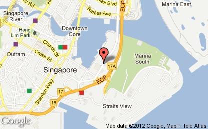 Marina Bay Sands Map