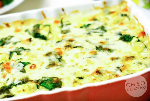 Oh SO Delicioso!: White Roasted Vegetable Lasagna-- i am so excited to try this!!