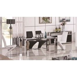 Modrest 2303A Modern Stainless Steel Dining Table -