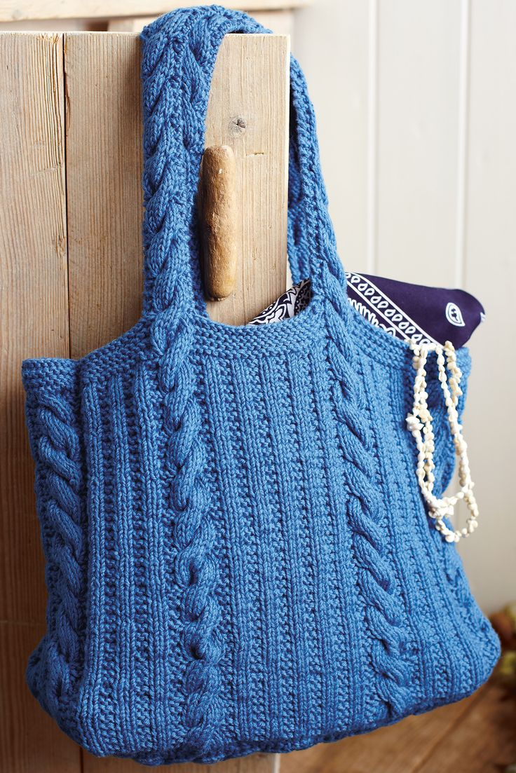 61 best accessory knitting patterns images on pinterest knitting need a knitting pattern to make a chic new bag look no further than this smart heritage style rib and cable design bankloansurffo Images