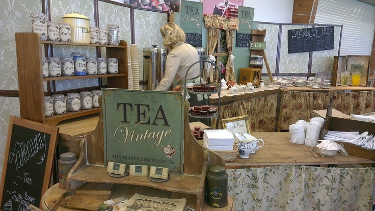 Vintage Tea Room Epsom Vintage Fair