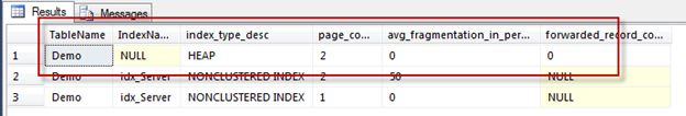 Identify and Correct SQL Server Forwarded Records
