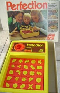 Childhood Memory Keeper: Retro Pop Culture from the 1960s, 1970s and 1980s: Perfection Game