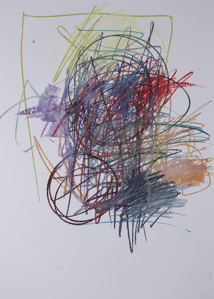 Michael Třeštík, 400 colors on 10 sheets, series III, No. 3, 2016, pastel A1
