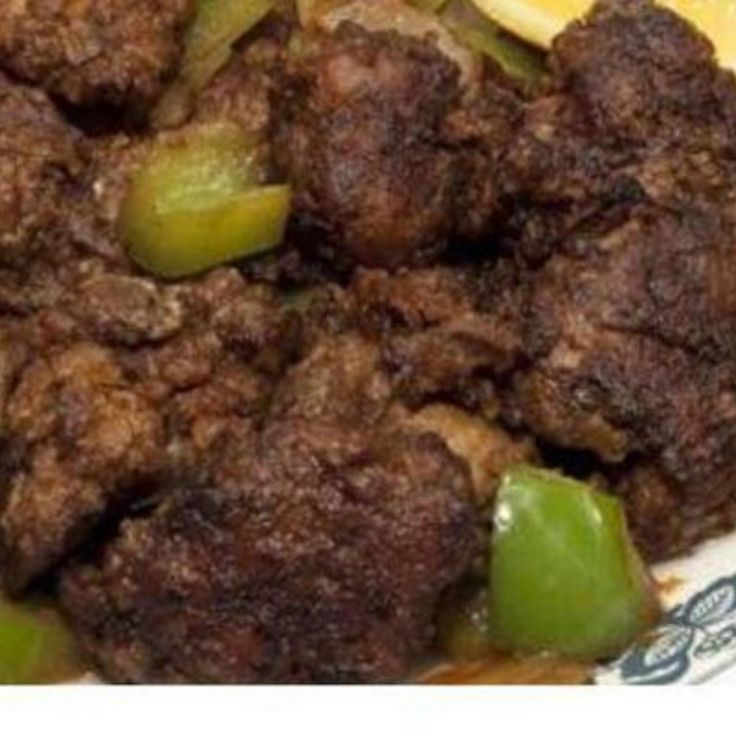 This is the most wonderful chicken liver recipe.  It has so much great flavor you would never guess it was a Vintage recipe out of an old Weight Watchers cook book.        Picture found on Google images.