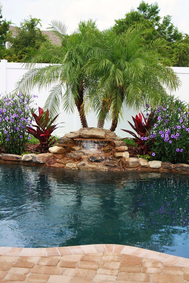 1000 Ideas About Rock Waterfall On Pinterest Garden