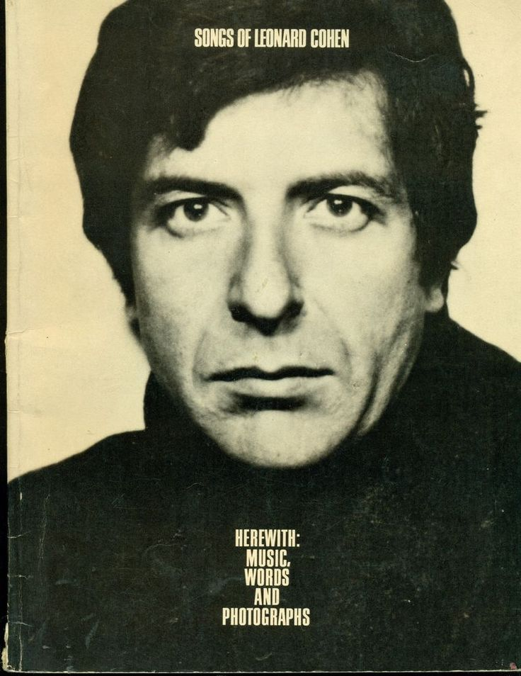 SONGS OF LEONARD COHEN (Songbook) 1969, 96pg. #77-77233. AMSCO/MacMillan. For piano/vocal/guitar (has both guitar chord shapes & guitar TAB!) SONGS: Bunch of Lonesome, Heroes, Bird On a Wire, Butcher, Hey That's No Way To Say Goodbye, Lady Midnight, Master Song, Old Revolution, 1 of Us Can Not Be Wrong, Priests, Seems So Long Ago Nancy, Sisters of Mercy, So Long Marianne, Sisters of the St. ,Story of Isaac, Stranger Song, Susanne, Teachers, Tonight Will B Fine, Winter Lady, U Kings Who I Am,
