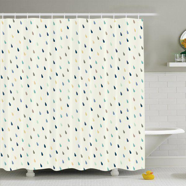 Textured Stripe Single Shower Curtain Shower Curtain Sets