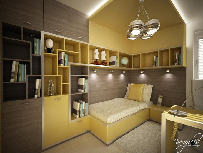 Awesome  Original Children us Bedroom Design Showcasing Vibrant Colors