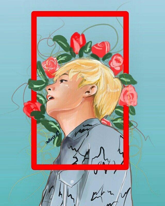 flower boi #fanart #bts