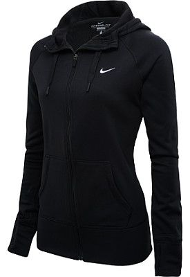 Loves me a good tight sports jacket.  NIKE Women's All Time Full-Zip Hoodie - SportsAuthority.com