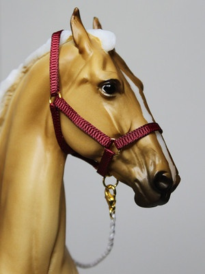 Maroon Halter for Breyer Marwari/Model Horses | Model ...