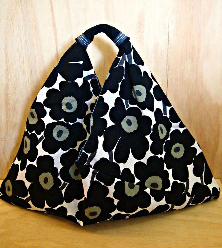 57cm x 50cm  Image of Azuma Bukuro : Marimekko Fabric Mini Unikko from Finland