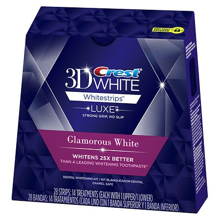 Crest 3D White 3D Whitestrips LUXE Glamorous White
