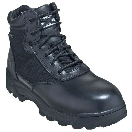 Original SWAT Men's 116401 Black Side-Zip Leather 6-Inch Military Boot