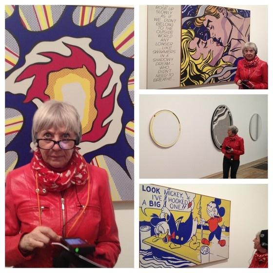 Mieke Drossaert visits Roy Lichtenstein @ Tate Modern in London