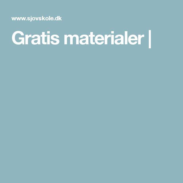 Gratis materialer |