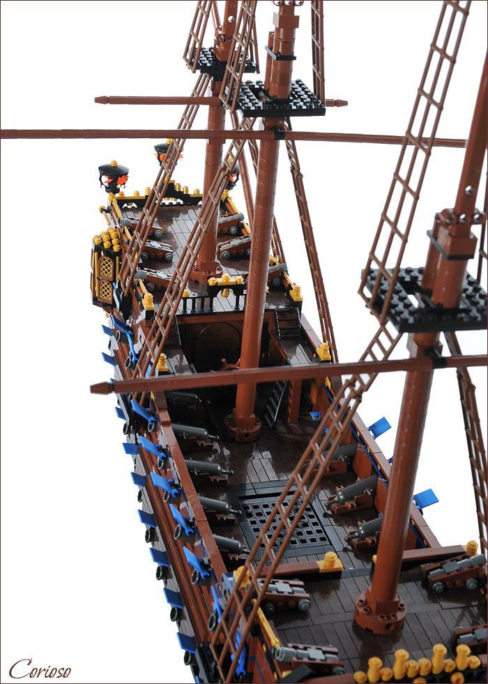 290 Best Lego Pirate Ships Images On Pinterest Lego Boat