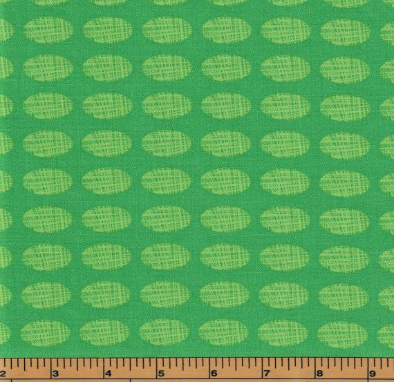 Green Dinosaur Eggs- Stomp Collection by Red Rooster Fabrics