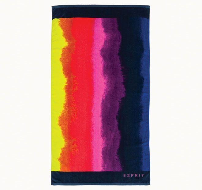 Esprit Blurred 86x160cm Beach Towel Multi