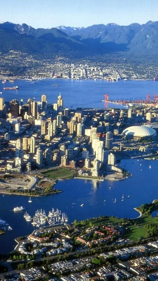 Vancouver....been here...it is amazingly beautiful...