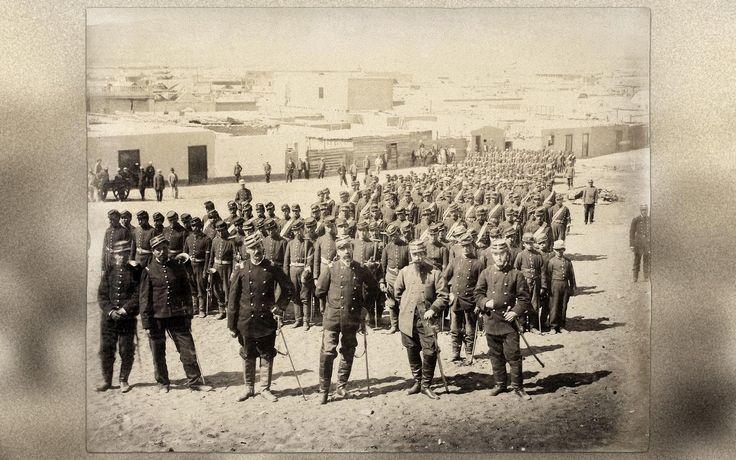 Banda de guerra Regimiento Valparaiso