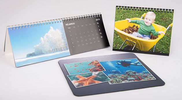 Nämä lahjat isä vie ylpeänä työpaikalleen! Isälle lahjaksi kalenteri pöydälle tai seinälle, pöytäkuvateline tai hiirimatto omasta kuvasta ifolorilta - http://www.ifolor.fi/inspire_isanpaivan_lahjaopas